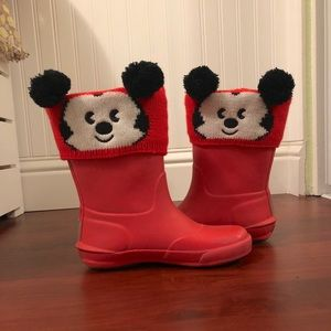 Disney Store Boot toppers